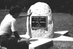 Memorial to Eagle Scout James Story Martindale