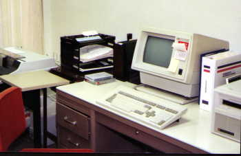 First Computer in office