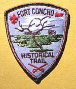 Old Fort Concho Patch
