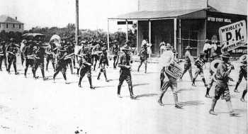 Band in 1922 in San Angelo