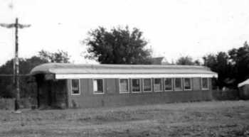Old Railroad Car used for Scout Hut