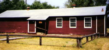Troop 14 Scout cabin from old Camp Bowie Mess Hall