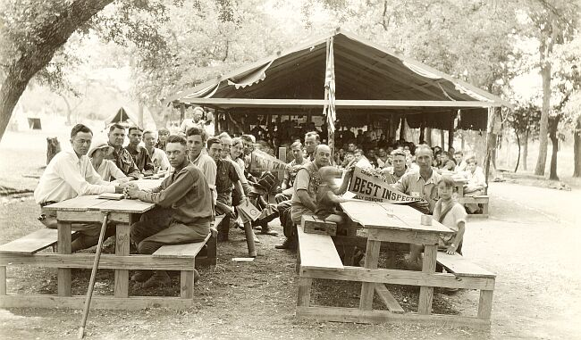 First Dining Hall in 1931