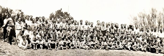 Camp Post in 1927