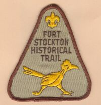 Fort Stockton Historical Trail Patch