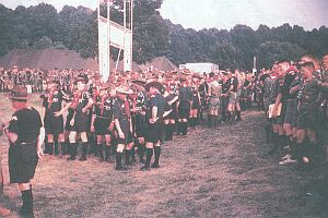 Canadian Scouts at 1964 National Jamboree