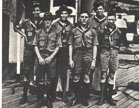 Scouts who attend 1937 World Jamboree